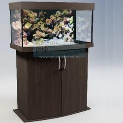 Аквариум панорамный Аквас (Aquas) 100 литров Венге