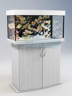 Аквариум панорамный Аквас (Aquas) 100 литров