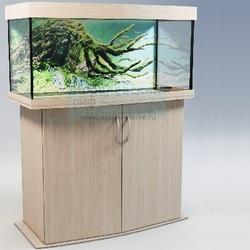 Аквариум панорамный Аквас (Aquas) 130 литров Беленый Дуб
