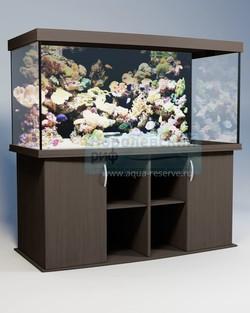 Аквариум панорамный Аквас (Aquas) 600 литров