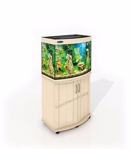 Панорамный аквариум 120 литров Патонг