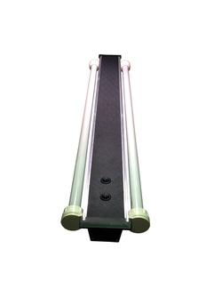 Светильник алюминиевый ZelAqua, 120 см, Т8, 2х30 вт