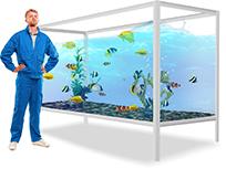 Картинки по запросу обслуживание аквариумов