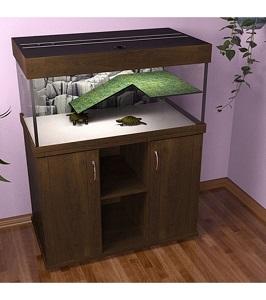 Аквариум для черепах 200 литров закрытый Зелаква