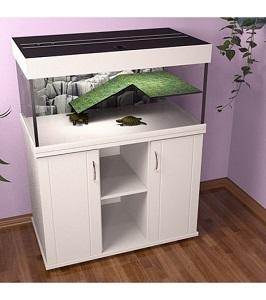 Аквариум для черепахи 250 литров закрытый Зелаква