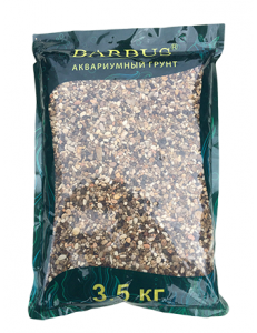 Грунт BARBUS речная галька 2-3 мм. 3,5 кг.