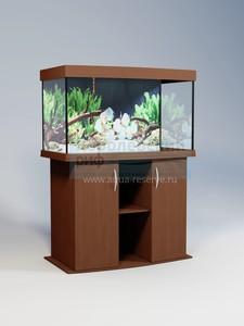 Аквариум панорамный Аквас (Aquas) 190 литров