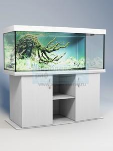 Аквариум панорамный с тумбой Аквас (Aquas) 400 литров