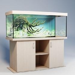 Аквариум панорамный Аквас (Aquas) 400 литров