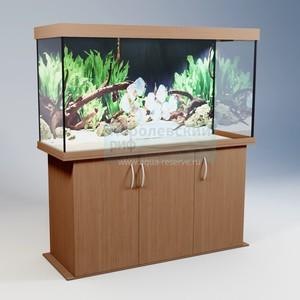 Аквариум прямоугольный с тумбой Аквас (Aquas) 410 литров