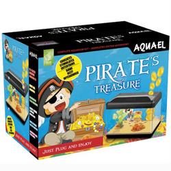 Аквариум Aquael Pirate 15 литров с копилкой