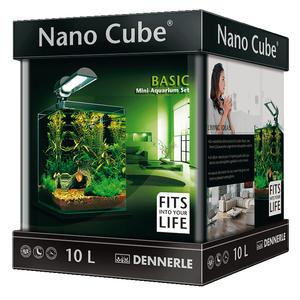 Аквариум прямоугольный Dennerle NanoCube Basic 10 (10 литров)