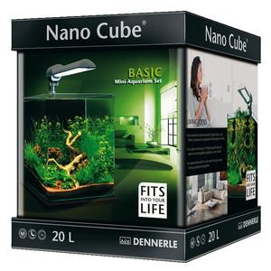Аквариум прямоугольный Dennerle NanoCube Basic 20 (20 литров)