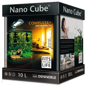 Аквариум прямоугольный Dennerle NanoCube Complete Plus 10 (10 литров)