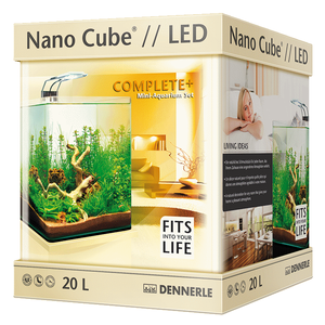 Аквариум Dennerle NanoCube Complete Plus Nano Power LED 20 (20 литров)
