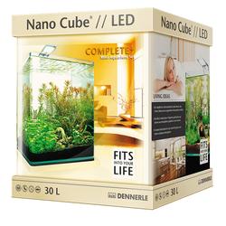 Аквариум прямоугольный Dennerle NanoCube Complete Plus Nano Power LED 30 (30 литров)
