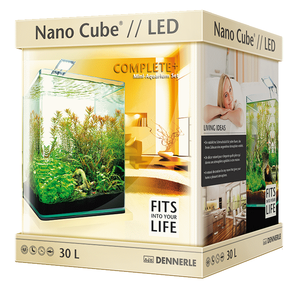 Аквариум Куб Dennerle NanoCube Complete Plus Nano Power LED 30 (30 литров)