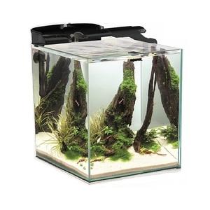 Аквариум Куб Aquael SHRIMP SET DUO LED черный 49 литров