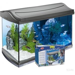 Аквариум прямоугольный с тумбой Tetra AquaArt LED Tropical 60 литров