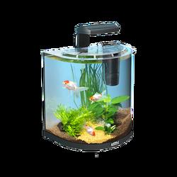 Аквариумный набор Tetra AquaArt Explorer Line Goldfish панорамный (30 литров)