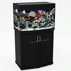 Аквариум Королевский Риф 120 литров (70х42х51) панорамный