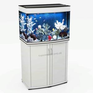 Аквариум Королевский Риф 140 литров (70х42х56) панорамный