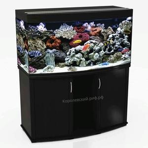 Аквариум Королевский Риф 350 литров (120х55х66) панорамный