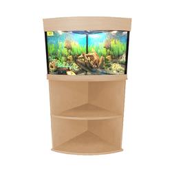 Угловые аквариумы Аквас