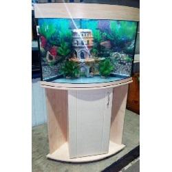 Аквариум 100 литров угловой Зелаква